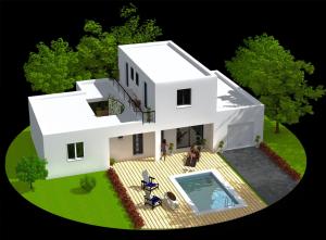 permis de construire permis de construire Permis de construire perspective3D